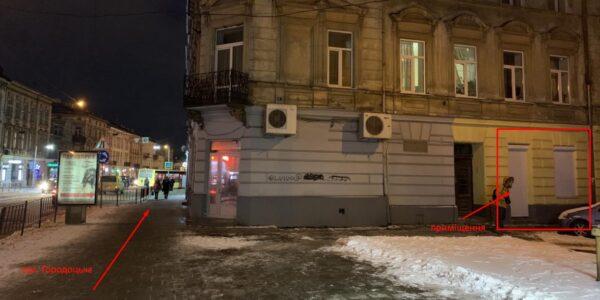 Оренда приміщення 40 кв.м. по вул. Городоцькій